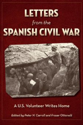 Letters from the Spanish Civil War book cover