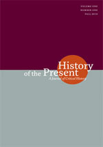 History of the Present journal cover